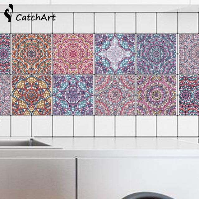 Aliexpress.com : Retro Mandala stil Mosaik Fliesen Wasserdicht ...