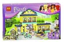 Bela 10166 Friends City High School Toys Gift Minifigures Building Block Minifigure Toys Best Toys Compatible with Legoe