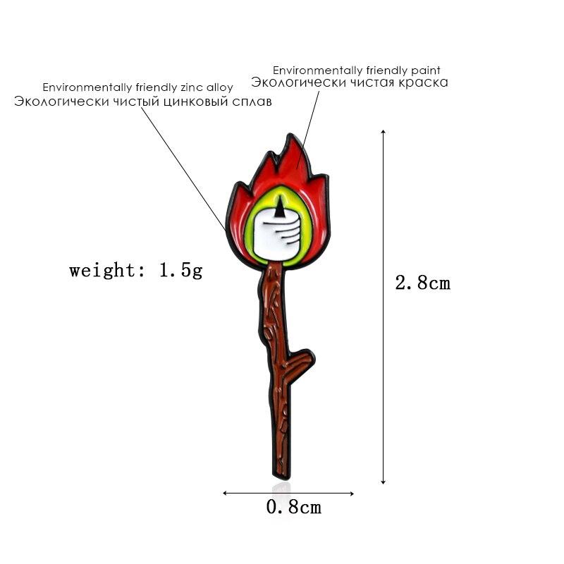 胸针火柴2