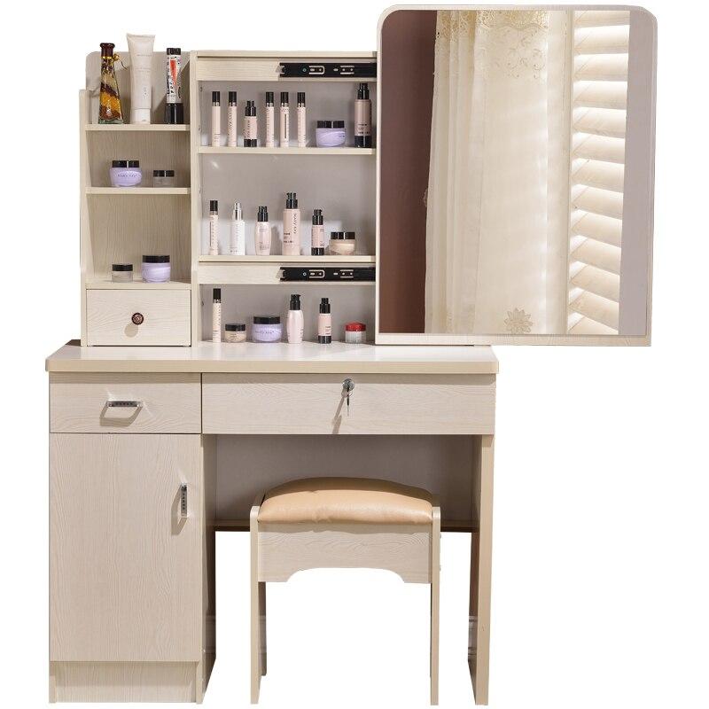 Новый комод спальня макияж Таблица простой современный небольшой мини-размер суета коробка для хранения