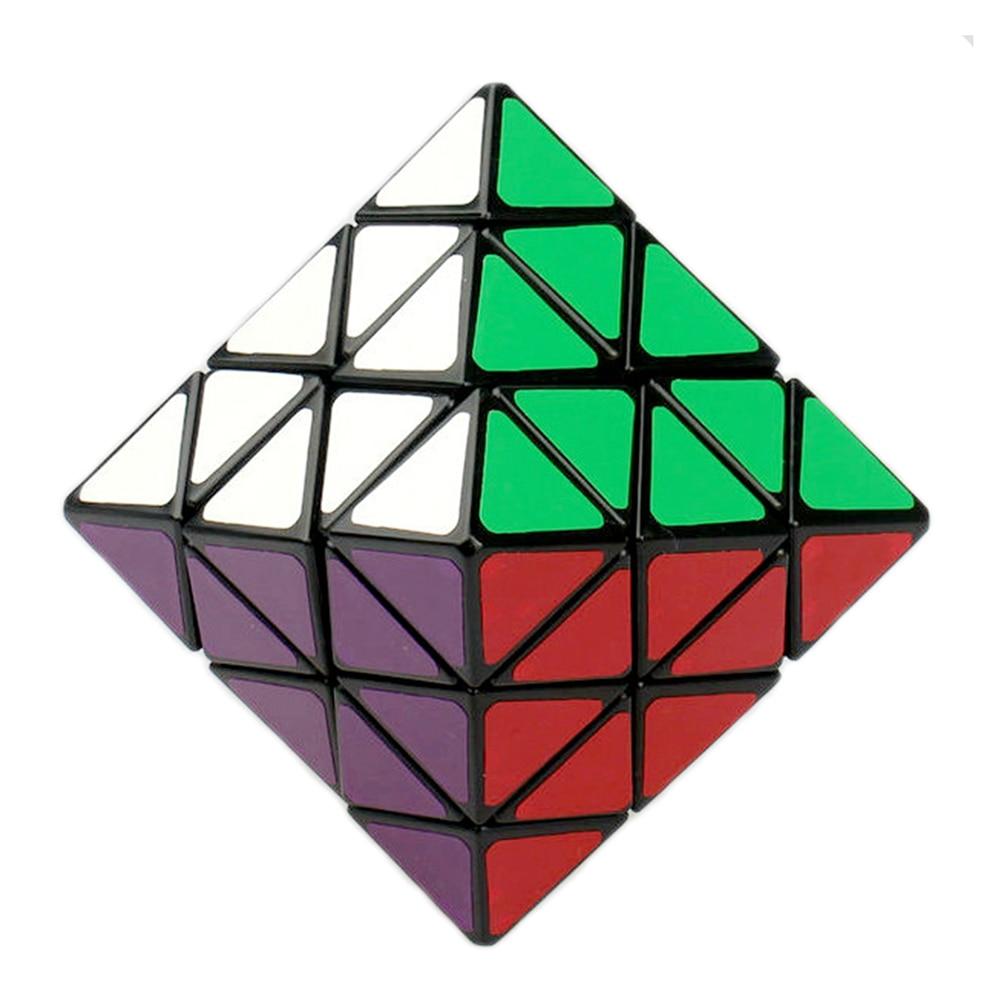 Lanlan 8 Axis Octahedron Speed font b Magic b font font b Cube b font Puzzle