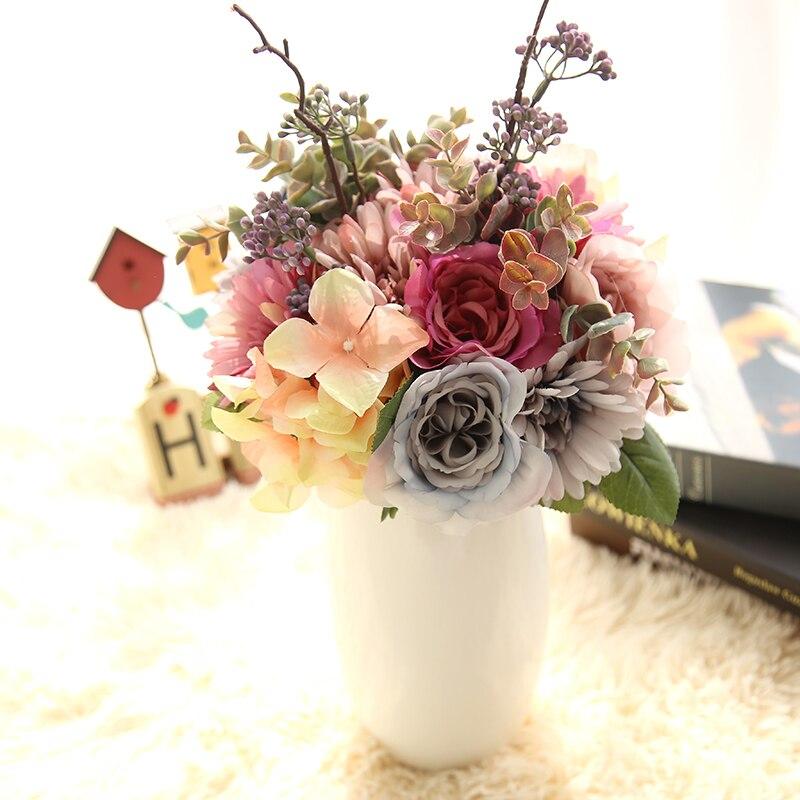 Diy Flower Bouquet Wedding: YO CHO Wedding Bouquet Bridesmaid Gerbera Rose Bouquets