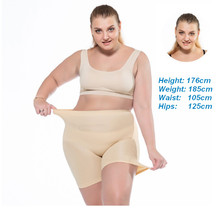 High Waisted Safty Pants Plus Size Super Stretchy 4XL 5XL Push Up Underwear Big in Women ouc547