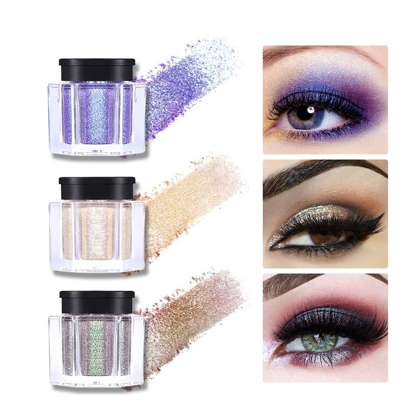 1 шт., перламутровый Алмазный Блеск, тени для век, блестящий макияж, легко носить, долговечный пигмент, макияж для глаз, косметика TSLM1|Глиттер и шиммер|   | АлиЭкспресс