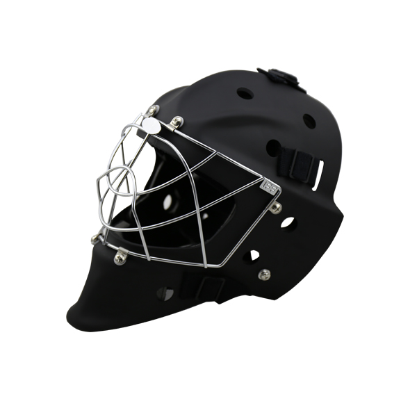 Free shipping CE Approval ABS outshell PE inner cricket helmet street Field hockey helmet with A3 steel cage magideal ice hockey helmet soft eva liner with cage for player hockey face shield xs s m l xl