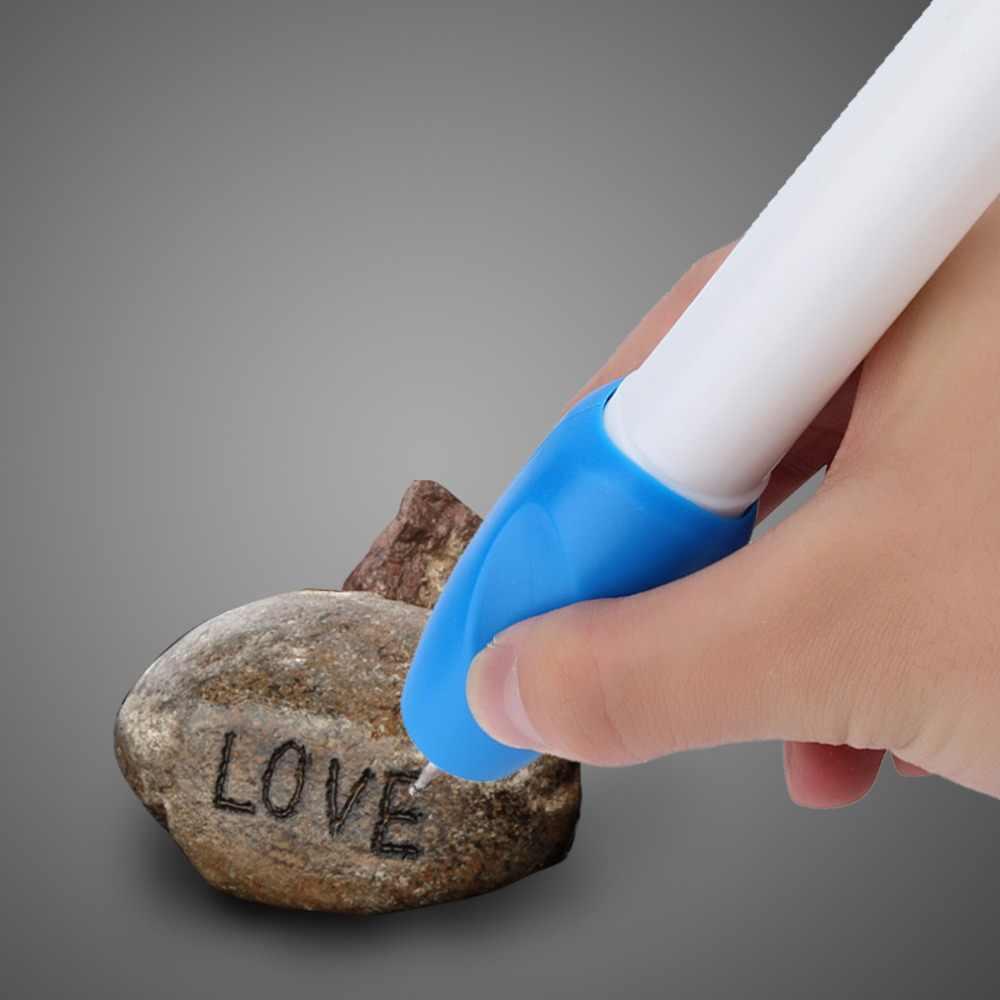 2018 ใหม่ร้อนเครื่องประดับไฟฟ้าแกะสลักปากกาแก้วพลาสติกโลหะไม้แกะสลักปากกาแกะสลักเครื่องมือDropshipping