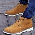 ZNPNXN Sapatos de Inverno Homens Botas de Couro Genuíno Botas Dos Homens Botas de Inverno do Outono Para Homens Zapatos Hombre 2016