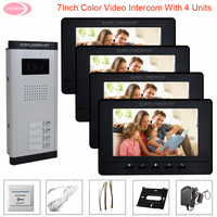 Video Intercom For Apartments Video Door Entry System For Home Door Intercom Outdoor Unit Intercom For a Private House Door Bell