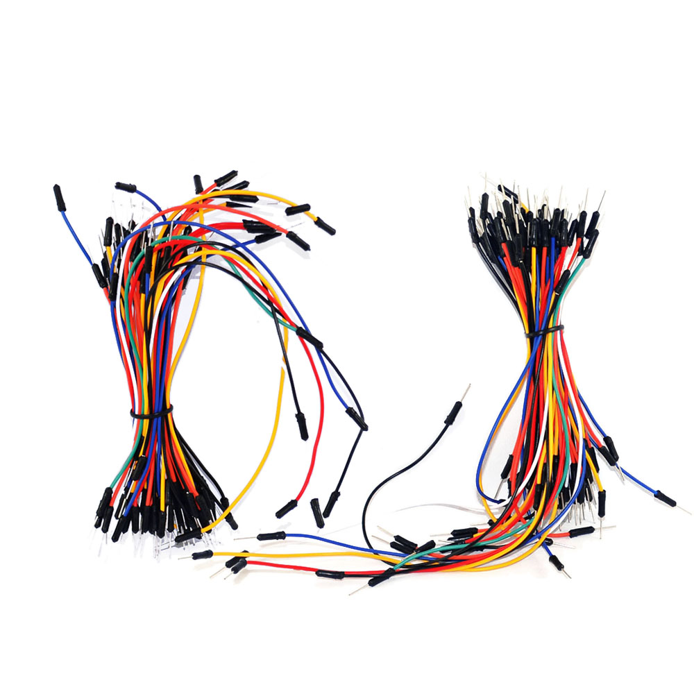 Free shipping! 130PCS male to male  jumper wires For breadboard