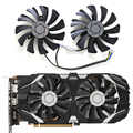 2pcs/set GTX 1060 P016 85mm VGA Cooler Fan for MSI GeForce GTX1060-6GT-OC INNO3D GTX 1060 6GB video Graphics Card Cooling Fan