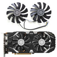 2pcs/set GTX 1060 P016 85mm VGA Cooler Fan for MSI GeForce GTX1060-6GT-OC INNO3D GTX 1060 6GB video Graphics Card Cooling Fan