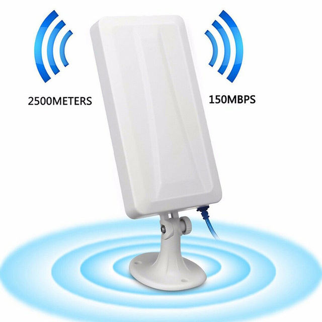 USB wireless network card WiFi Extender Wireless Outdoor Router Repeater computer network signal enhanced wifi receiver 5m 4