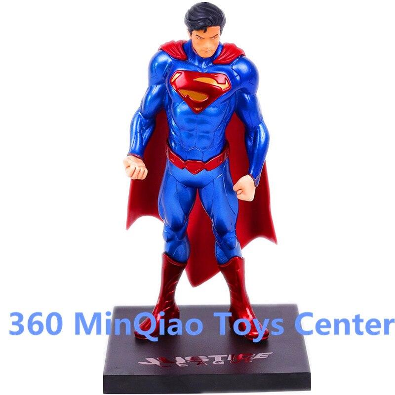 ARTFX + STATUE Justice League DC Super Hero Superman 1/10 Scale Pre-Painted PVC Action Figure Collectible Model Toy Boxed WU1006 artfx statue dc super hero red robin 1 10 scale pre painted figure collectible model toy