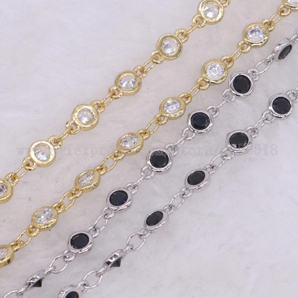 3 meter kristall rosenkranz kette halskette Draht Gewickelt perlen ...