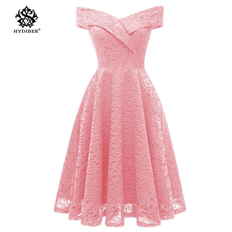 Robe Femme Embroidery Vintage Lace <font><b>Dress</b></font> Women Off Shoulder <font><b>Dresses</b></font> short Sleeve Casual Evening Party A Line Plus size <font><b>Dress</b></font>