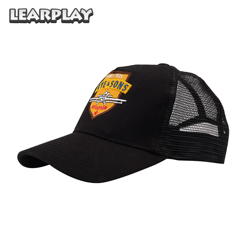 Learplay Far Cry 5 Rye & Sons Aviation Hats Cosplay Baseball Cap Halloween Hip Hop Hats For Men Women Costume Accessories