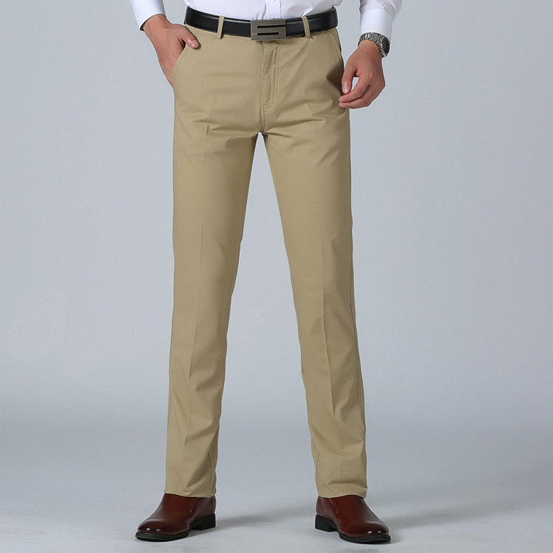 SNOW PINNACLE Size 29- 42 Spring Straight Pant 100% Cotton 55-120 Kg Men Comfortable