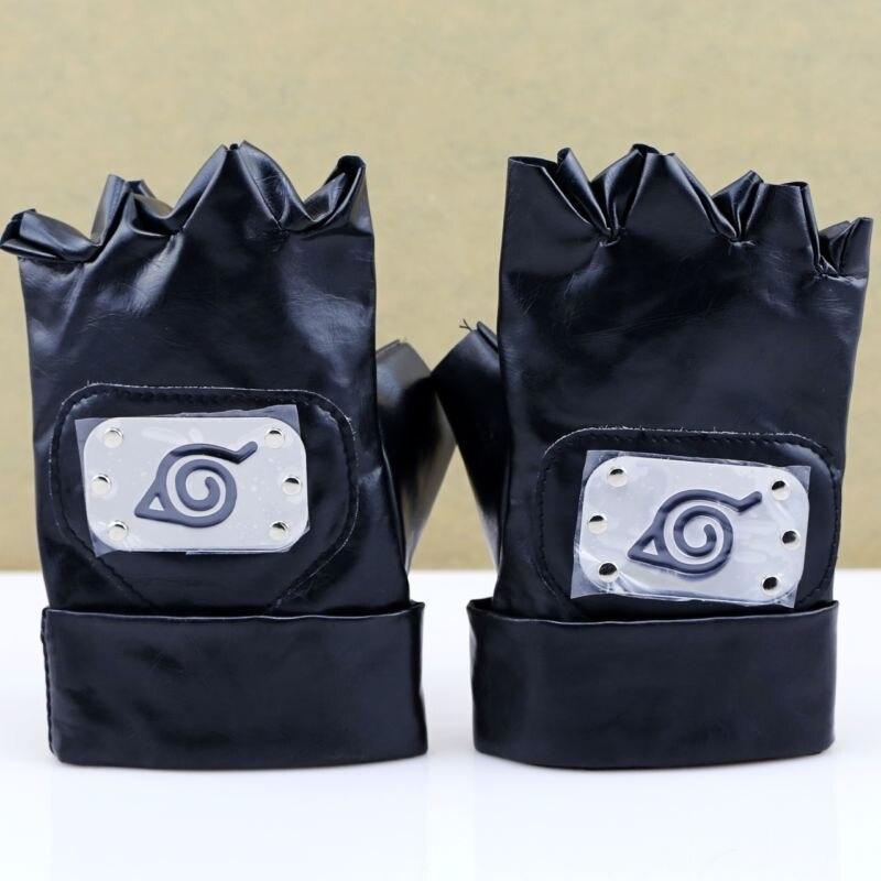 comprare bene ordine autentica di fabbrica Anime NarutoHatake Kakashi Gloves Ninja Gloves Kakashi Mittens ...
