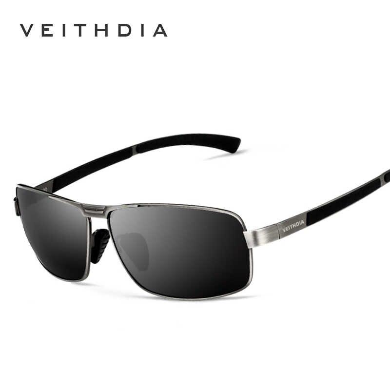 6bd2b969a ... VEITHDIA With Original Case Polarized Sunglasses Men Brand Designer  Vintage Male Sun Glasses gafas oculos de ...