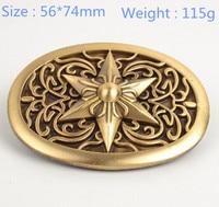 Brand New Fashion High Quality Solid Brass Belt Buckle Fit 38mm Women Belt And Men Belt