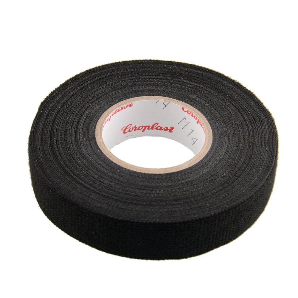 hot 1x adhesive 19mmx15m 19mmx15m cloth fabric tape cable looms looms wiring harness. Black Bedroom Furniture Sets. Home Design Ideas