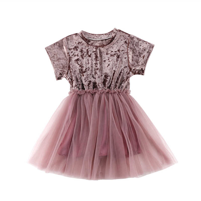 5c2afa6800 Infant Toddler Kids Baby Girls Velvet Lace Dress Sundress Cute Baby Girl  Sleeveless Princess Tulle Tutu