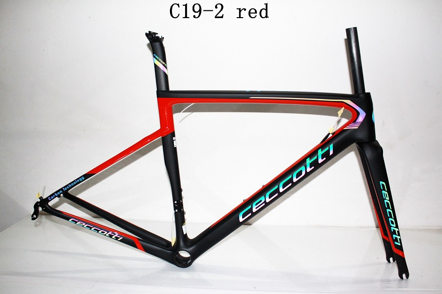 Dc019 Ceccotti  Carbon Road Bike Frame Toray  PF30/BB30/BSA Frame+fork+seatpost+clamp+headset 2019