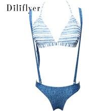 Купить с кэшбэком Sexy Swimwear Women Push Up Swimsuit Bikini Set  Bathing Suit  Beach Wear Brazilian M104