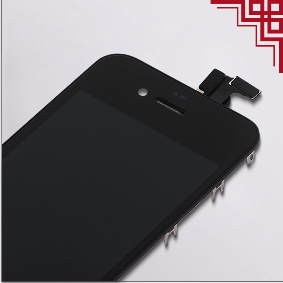 5PCS/LOT AAA LCD Screen For Apple iPhone 4/4s Module Capacitive Display Assembly&Touch Screen Digitizer With Gifts Free Shipping