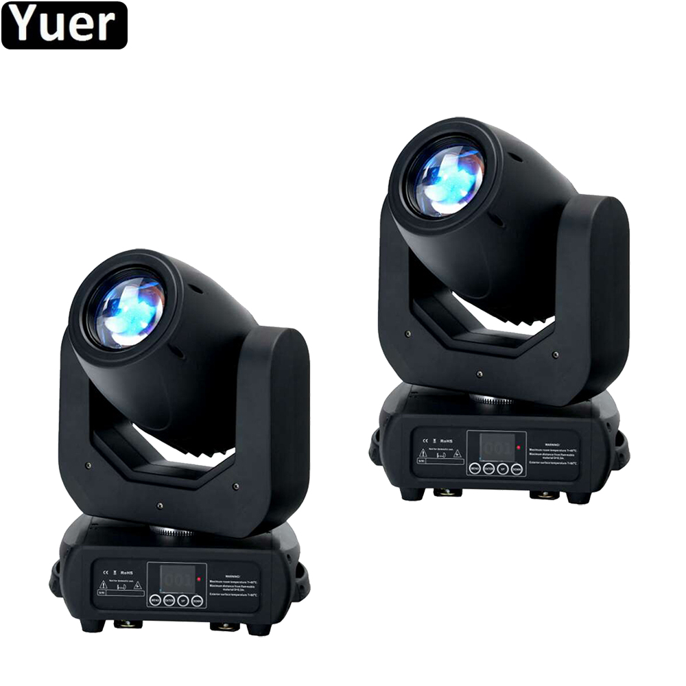 2Pcs/Lot Stage Light Beam Spot 150W LED Moving Head Light 16/14/12/10 DMX Channels For Party Disco DJ Merry Christmas Lights