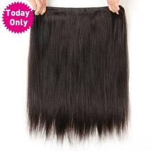 Peruvian Straight Human Hair Weave Bundles