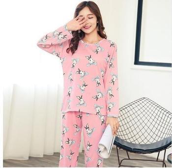 f57228a4552 Quick View. Sleep & Lounge. New Autumn Winter Women Pyjamas Thin Long Sleeve  Pajamas Set Student Tracksuit Tops ...