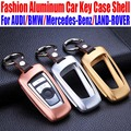 Aluminum Car Key Case For AUDI For BMW Key Shell Cover For Mercedes-Benz For LAND-ROVER