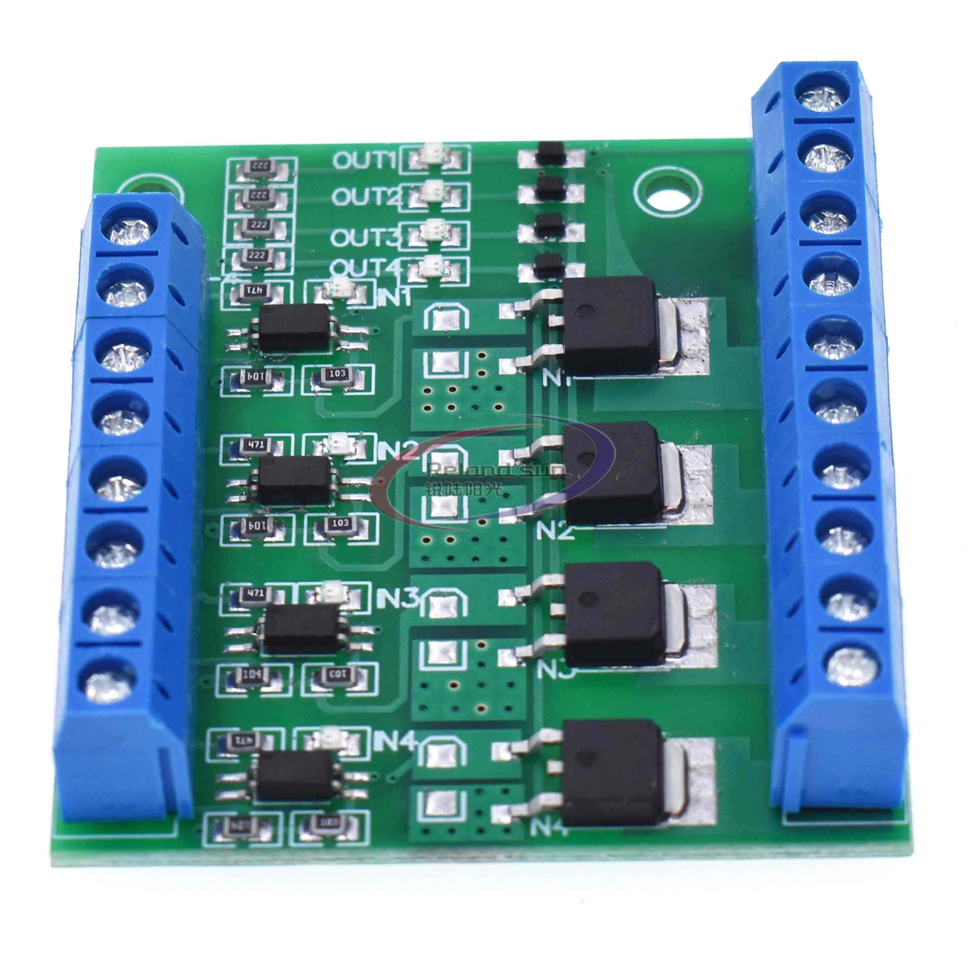 MOS FET F5305S 4 チャンネルパルストリガスイッチコントローラ PWM 入力定常モーターの Led 4 方法 4ch 4 ウェイ diy 電子モジュール