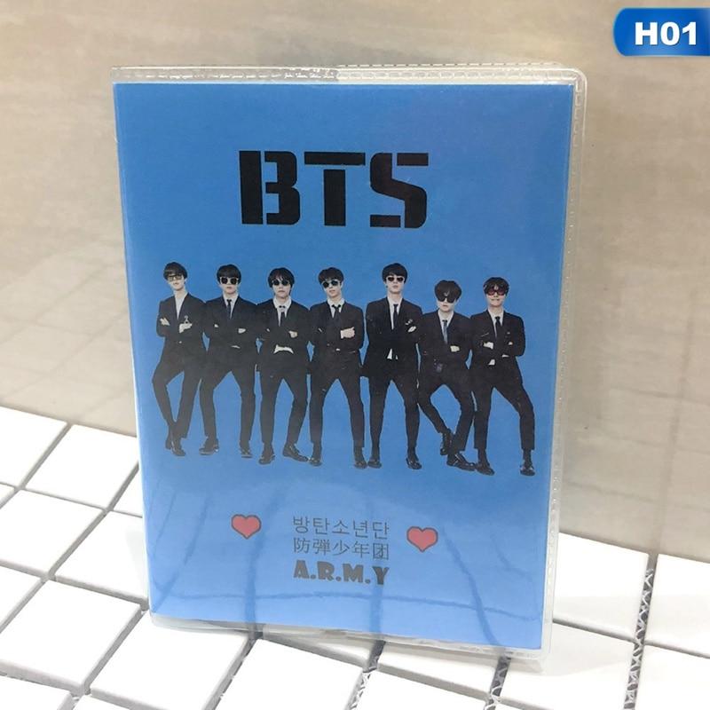 1Pcs New Arrival K-pop BTS ARMY JIN V JUNGKOOK JIMIN SUGA Mini Notebook  BLACKPINK TWICE Printing Notebook