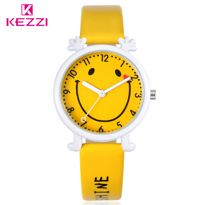 KEZZI Free shipping kids Boy Girl Watch Quartz Analog Leather Wristwatch Gift Cartoon Casual Waterproof Watches Children relogio high grade carbide alloy 1 2 shank 2 1 4 dia bottom cleaning router bit woodworking milling cutter for mdf wood 55mm mayitr