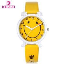 KEZZI Бесплатная доставка дети мальчик девочка аналоговые кварцевые часы наручные часы, подарок мультфильм Повседневное Водонепроницаемый Часы дети Relógio
