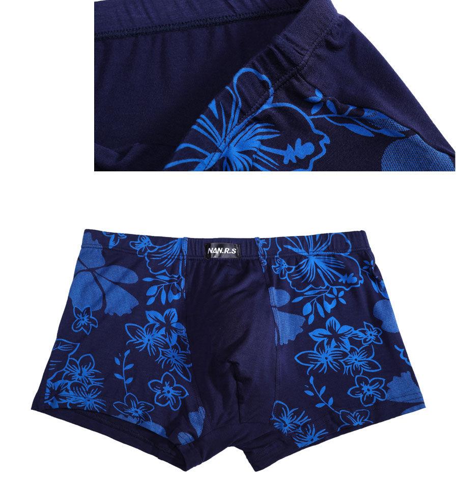 Bamboo Fibre Mens Underwear Boxer Shorts 53