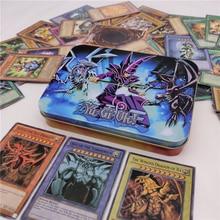 Новая английская версия 66 шт. 190 г Duel Monsters YU GI OH игра коллекция карт торговые карты игра с красивое железо коробка