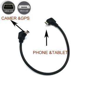Image 3 - OTG CABLE for camera to smartphone tablet phone micro usb to mini usb for canon nikon olympus camcorder