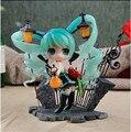 Anime Vocaloid Hatsune Miku lámpara feat. acción Nekozakana AlphaMax PVC Figure Model Collection Toy nueva en caja 15 CM