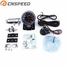 Free shipping CNSPEED 60MM Car Turbo Boost Gauge 3Bar with Adjustable Turbo Boost Controller Kit 1-30PSI IN-CABIN Car Meter