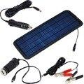 12 V 4.5 W Panel Solar Cargador de Batería Del Teléfono Cargador de Coche Universal Portátil Recargable Envío Libre con Número de la Pista 12003039