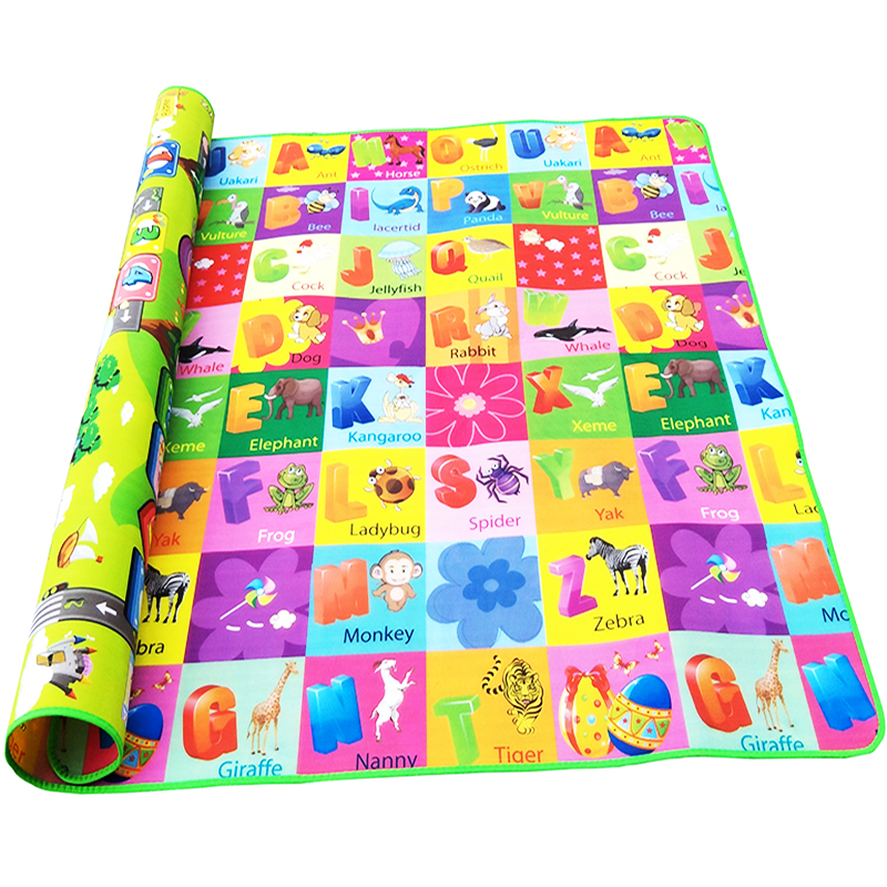HTB1WEZla8Cw3KVjSZFuq6AAOpXai Double Side Baby Play Mat 0.5cm Eva Foam Developing Mat for Children's Rug Carpet Kids Toys Gym Game Crawling Gym Playmat Gift