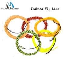 Maximumcatch 17lb 11ft/12ft/13ft tenkara linha de pesca com mosca 3.3m/3.6m/3.9m trançado linha da mosca linha tenkara