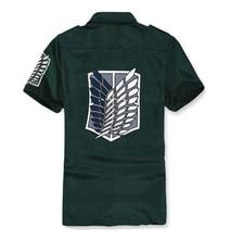 Attack on Titan Printed Cosplay Shirt