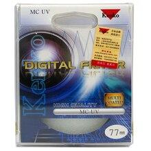 77 mm Kenko multicouche de la caméra de revêtement MC UV filtre comme Hoya