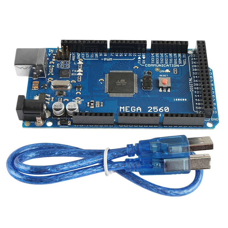Mega 2560 R3 Mcu Development Board Electronic Building Blocks Send Usb Cable Atmega16U2-Mu