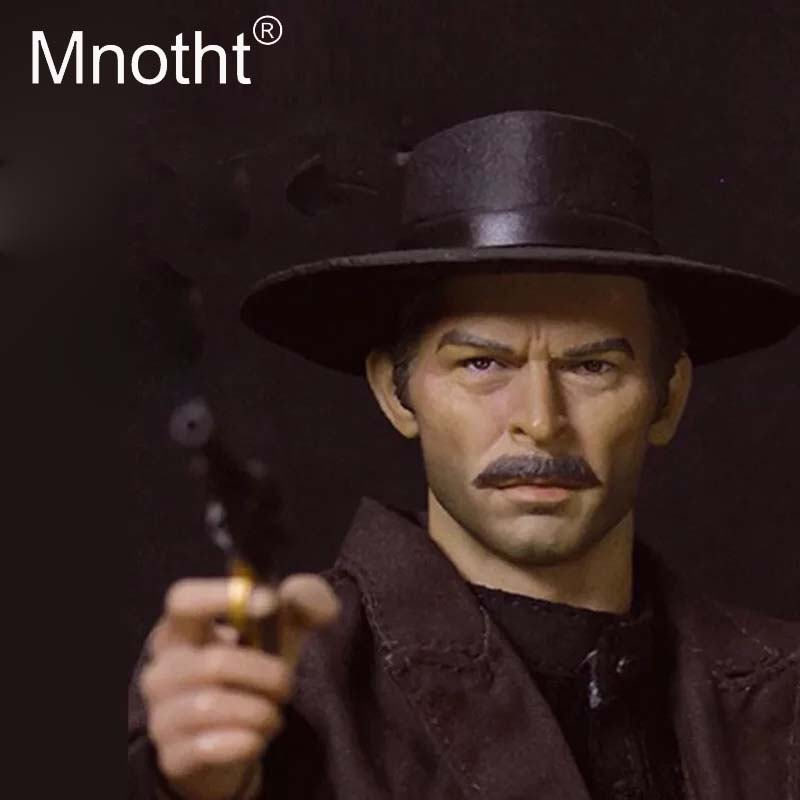 custom THE COWBOY Clint Eastwood 1//6 ACTION FIGURE HEAD 2.0 FIT HOTTOYS BODY