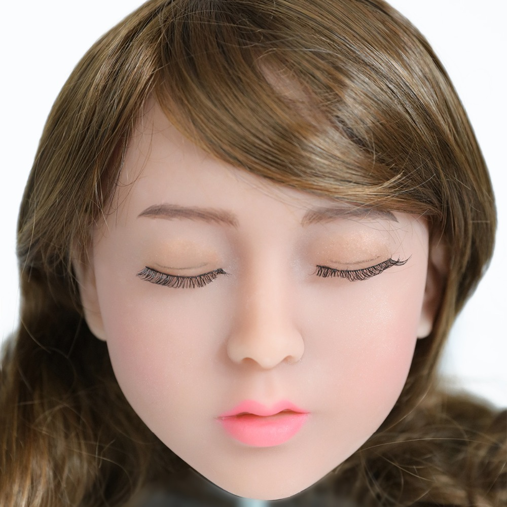 2017 Newest Top Quality Head 5# Big Doll's Head Tan Skin Sex Doll Head for Silicone Sex Doll Suitable For More Than 140cm Doll 2017 newest top quality head 56 big doll s head tan skin sex doll head for silicone sex doll suitable for more than 140cm doll